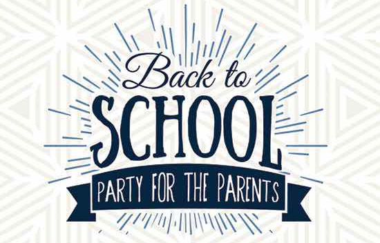 Back To School Party For The Parents